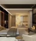 Luksuzno uređenje stana u smeđoj boji