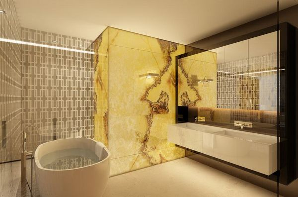Luksuzno uređen stan u smeđoj boji