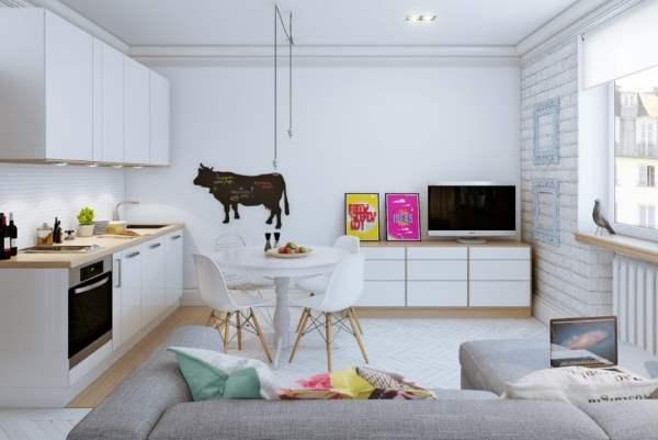 Život s obitelji u malom stanu s jednom spavaćom sobom