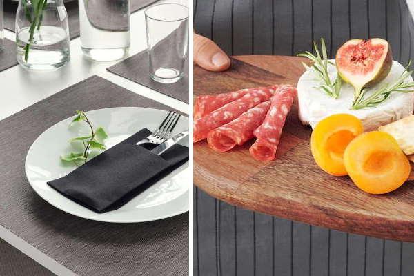 25 odličnih Ikea ideja za postavljanje stola i serviranje hrane