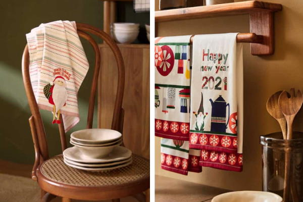 Božićne dekoracije za kuhinju Zara Home