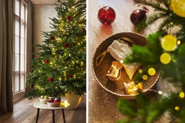 Ukrasi za božićno drvce Zara Home