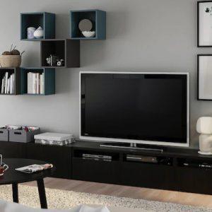 Moderni Ikea stalci i vitrine za TV Cover