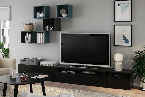 Moderni Ikea stalci i vitrine za TV