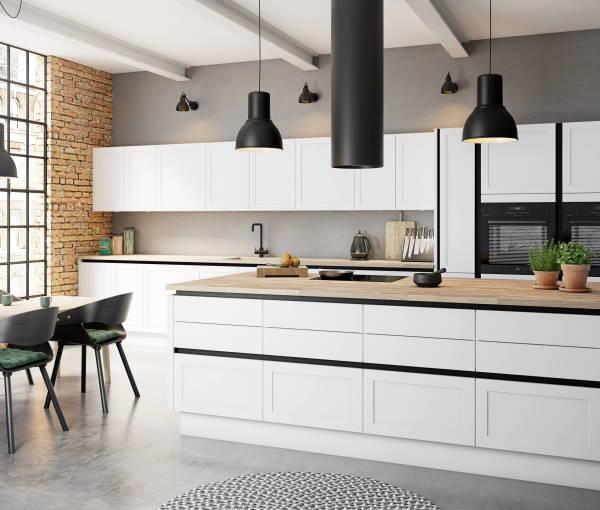 Moderne kuhinje u industrijskom stilu
