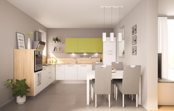 Bijele kuhinje Prima