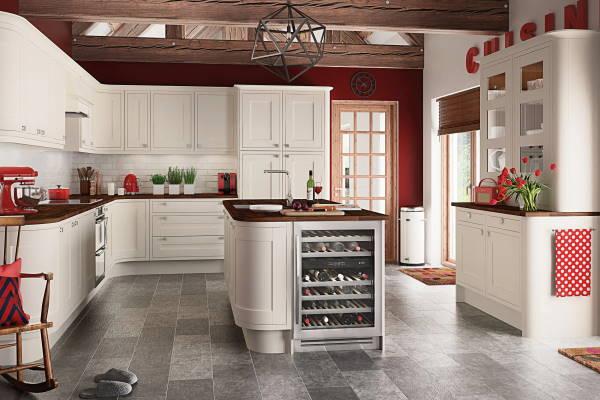 Moderno uređenje kuhinje - kako dodati crvene detalje