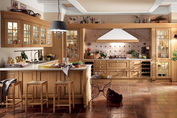 Scavolini kuhinje boje drveta